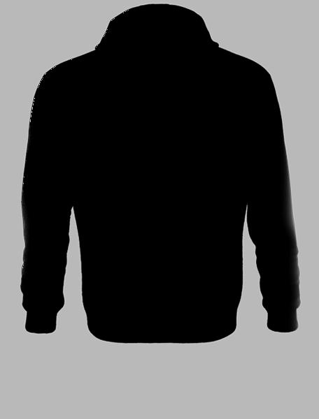 Zadní strana trička eXperience mikina