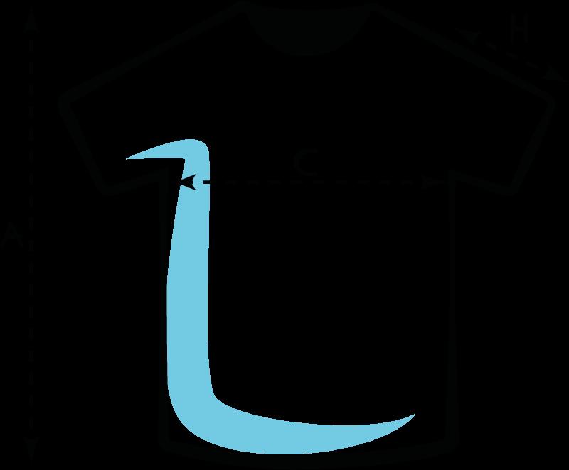 Pánská/unisexová trička - velikost