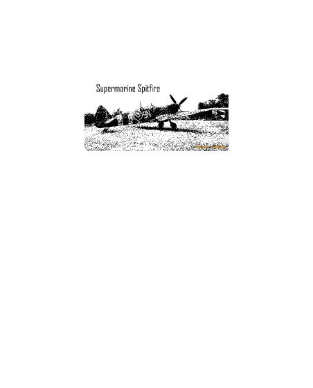 Obrázek trička Supermarine Spitfire