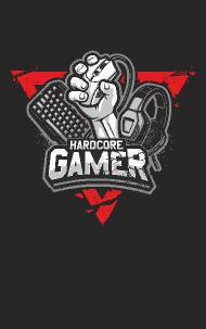 Náhled trička Hardcore Gamer