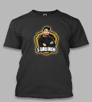 Náhled trička S Robinem - Do not be sorry, be better.